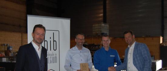 Unizo Limburg heeft het 'Handmade In Belgium'-label vandaag in Lommel uitgereikt aan Raf Thijs van Aqualife!